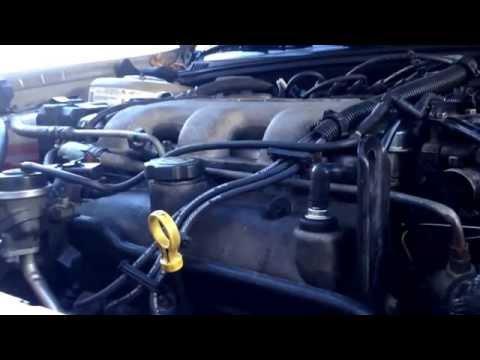 Demonstrating Broken Transmission/Engine Mounts