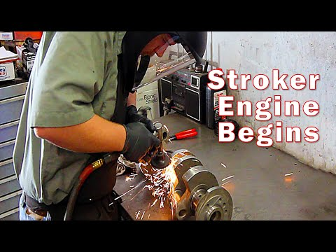 The Ultimate Small Block Stroker Engine Build -- Part 1