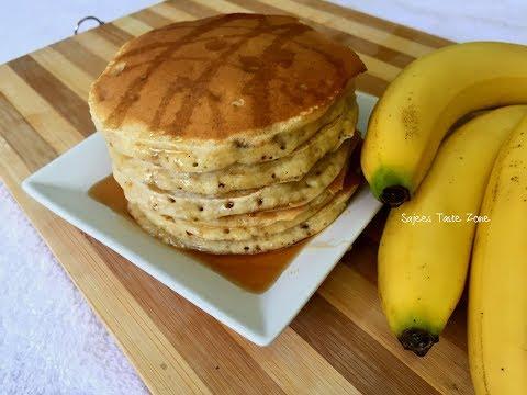Banana Pancake | ബനാന പാൻകേക്