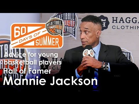 Mannie Jackson gives advice for young basketball players