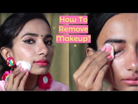 How to Remove Makeup ? मेकअप निकालने का सही तरीका