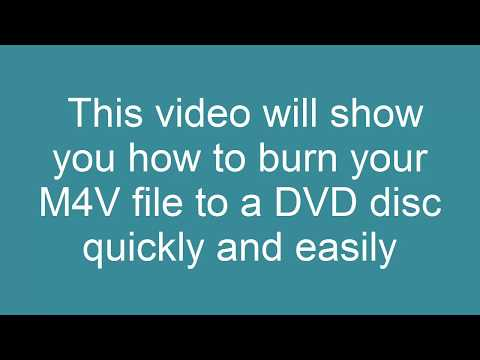 How to Convert M4V to DVD