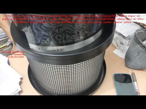 air cleaner blue penyaring udara merk sharp