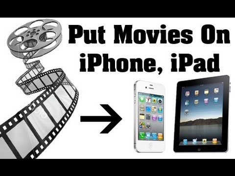How to Copy Movies / TV Shows to iPhone5, iPad, iTouch