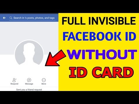 How to make full invisible name fb id without card latest trick 2018
