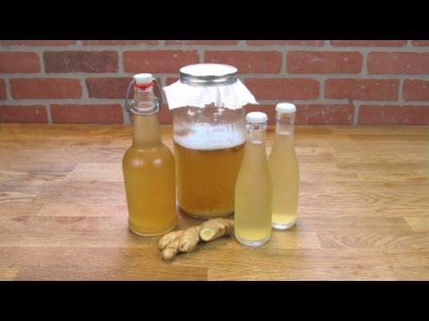 Water Kefir Ginger Tonic