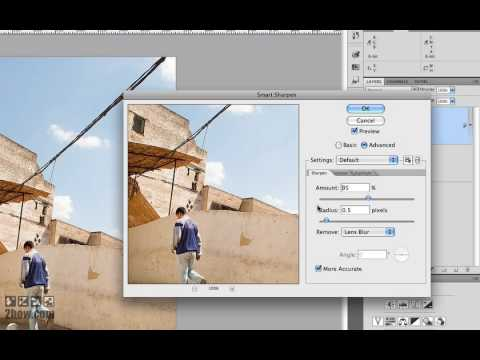 Photoshop CS4 Resize and Sharpen for Web Part I
