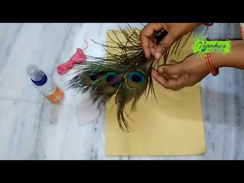How To Make Hair Band With Flowers    How To Make Bridal Hair Band With Fresh Flowers At Home