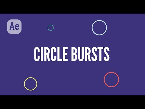 Create Cool Circle Explosions in Adobe After Effects