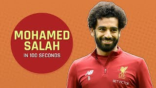 Mensxp: Egyptian Footballer Mohamed Salah Who Plays For Liverpool Fc In 100 Seconds | About Mo Salah