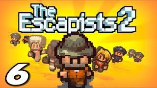 The Escapists 2 - CAMERA CREW ESCAPE - Episode 6 (Escapists 2 Gameplay Playthrough)