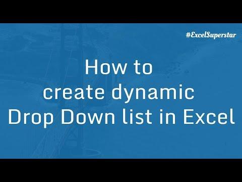 Drop Down list in Excel | Excel in Hindi