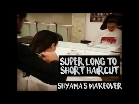 super long to short haircut  - haircut expert  - summer haircut for women by Shyama's Makeover