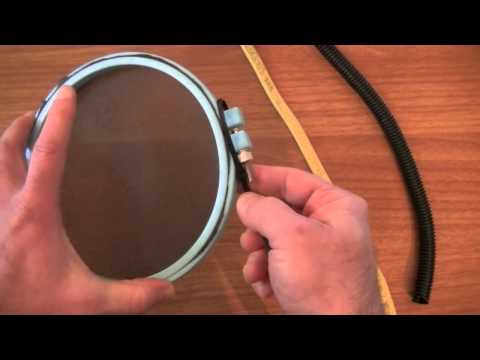 How to make your own microphone Pop Filter