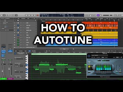 Logic Pro X Tutorial - How To AutoTune