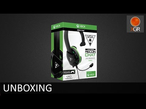 Unboxing - Turtle Beach Ear Force Recon Chat Headset