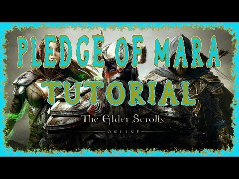 Elder Scrolls Online | How to Use the Pledge of Mara & the Rings of Mara | Marriage 10%xp Boost | HD