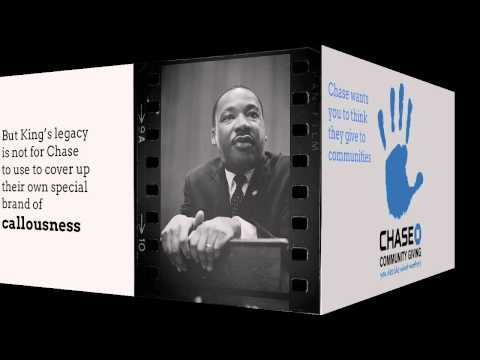 Chase Bank Exploits Legacy of Martin Luther King: Helen Bailey vs. Chase