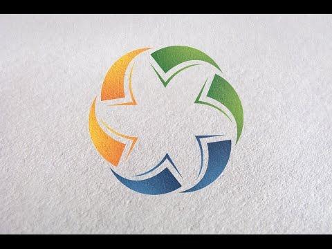 Make Circle Logo in Adobe Illustrator CC - Logo Design Tutorial