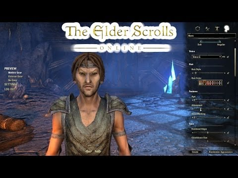 Elder Scrolls Online (Beta) Character Creation!