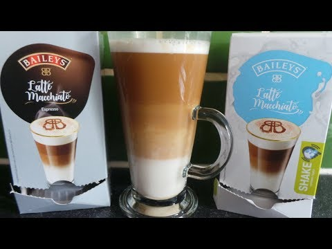 How to make a BAILEYS irish coffee with BOSCH Tassimo