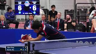 2018 US National Table Tennis Championships - Mens Singles Final - Kanak Jha vs Yijun Feng