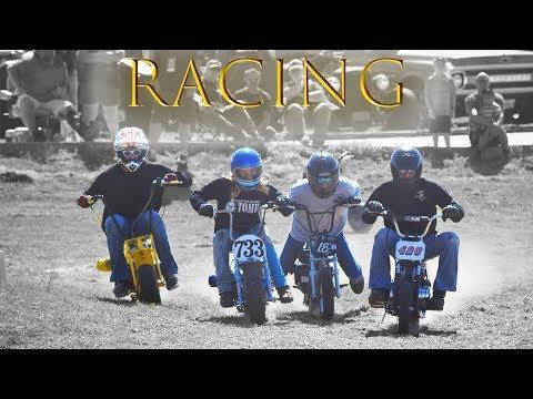 Mini Bike Racing in Gruene, TX w/T.O.M.B.