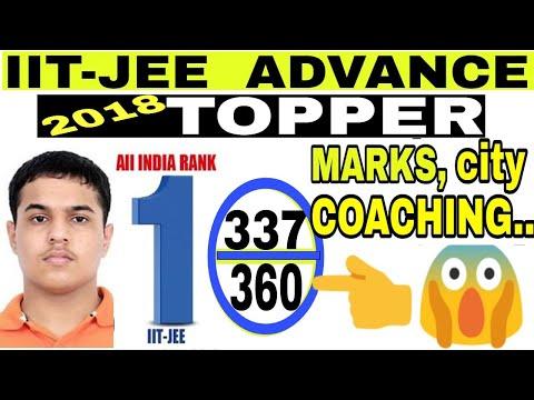 AIR 1 JEE ADVANCED 2018 TOPPER,IIT JEE Advanced 2018  topper Pranav Goyal interview, 2018 cut off
