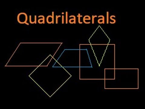 Different types of quadrilaterals and their properties : Bank PO : IBPS
