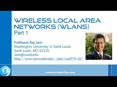 IEEE 802.11 Wireless LAN (WLAN) Part 1 - Fundamental Concepts