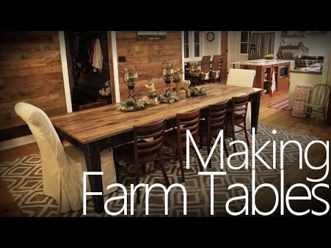 Making a Farm Table