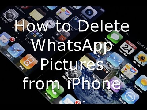 How to Delete WhatsApp Pictures from iPhone and iPad