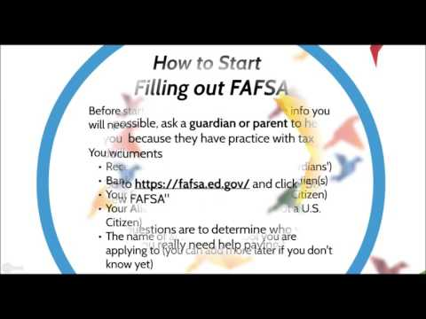 FAFSA for Noobs