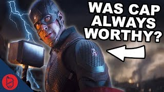 Marvel Theory: Was Cap Always Worthy? | Avengers Endgame