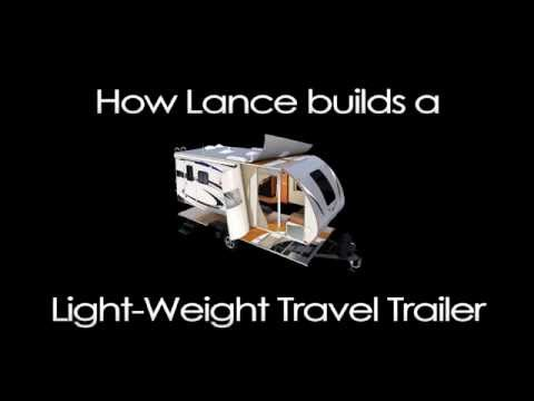 How Lance Camper Builds a Light Weight Travel Trailer