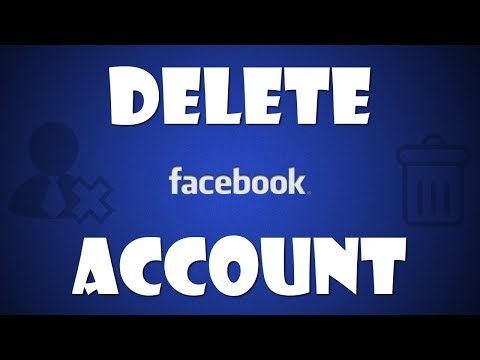 How to delete your Facebook account?! 2017-2018 HD