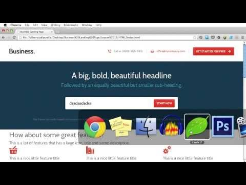 PSD to HTML - Lesson 13