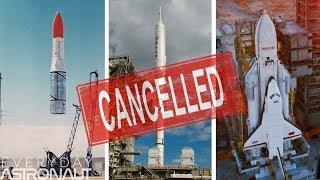 Abandoned Space Hardware: CANCELLED Part 1