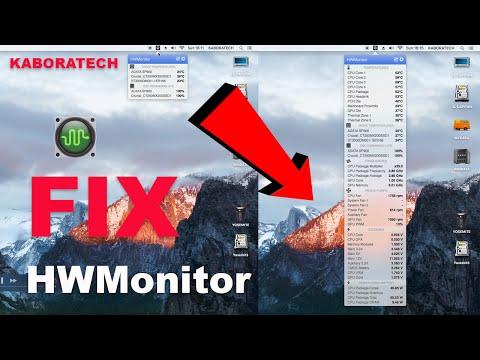 HWMonitor Sensors not Working - FIX