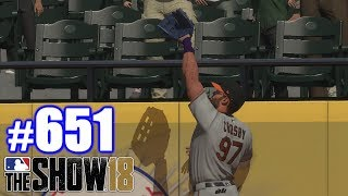 I CAN JUMP VERY HIGH! | MLB The Show 18 | Road to the Show #651
