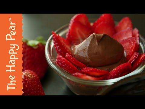 Best Chocolate Mousse Ever | Vegan Two Ingredients | THE HAPPY PEAR