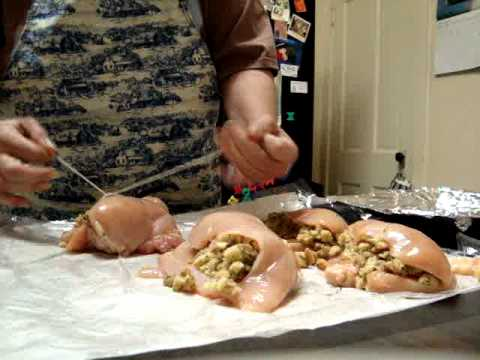 Stuffed chicken breast with bread stuffing NO 1.MPG
