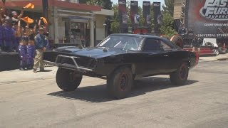 Fast and Furious Supercharged (Grand Opening and Ride-Through) at Universal Studios Hollywood