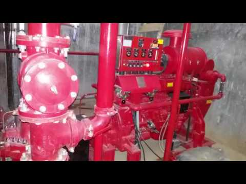 Fire hydrant pump & panel