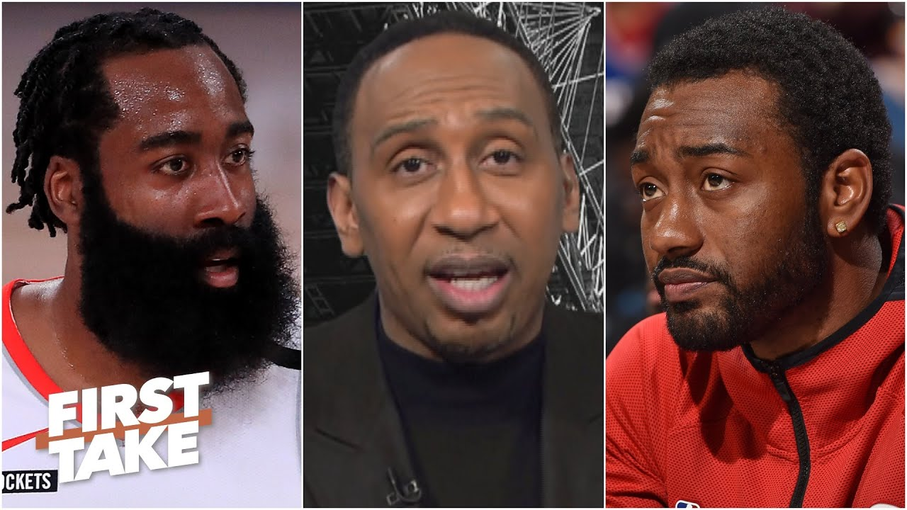 John Wall isn't enough to make James Harden stay with the Rockets - Stephen A. | First Take