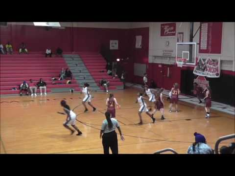 Lady Tigers vs West Nassau Highlites - ShirLayshia Rogers #23