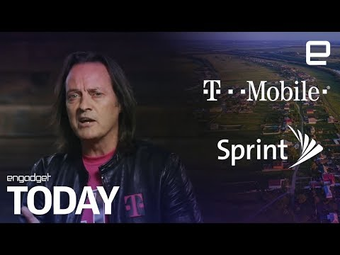 T-Mobile and Sprint will merge to create a 5G powerhouse | Engadget Today