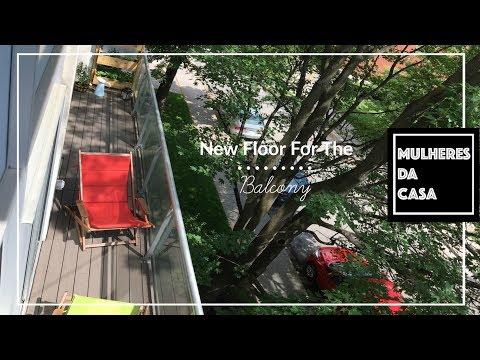 How To Instal a New Balcony Floor / New Floor For The Balcony