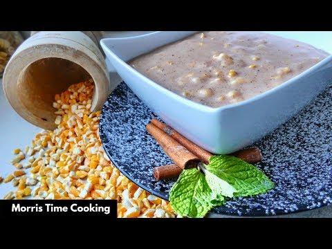 How To Make Jamaican Hominy Corn Porridge | Lesson #86 | Morris Time Cooking