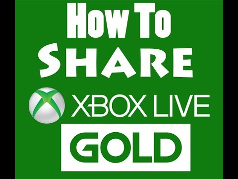 How To Share Xbox Live Gold Membership (Xbox One)
